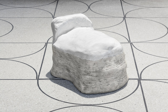 , 'White Ottoman,' 2015, CAMP DESIGN GALLERY