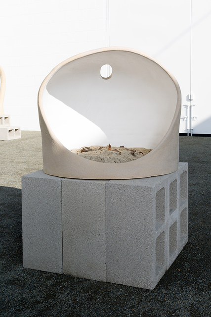 Anna Sew Hoy, 'Anti-Matter', 2015, Sculpture, Unglazed stoneware, sign painters' enamel, sand and mixed media, Various Small Fires