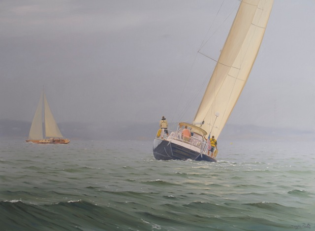 Sergio Roffo, 'Approaching the Mark', 2014, Quidley & Company