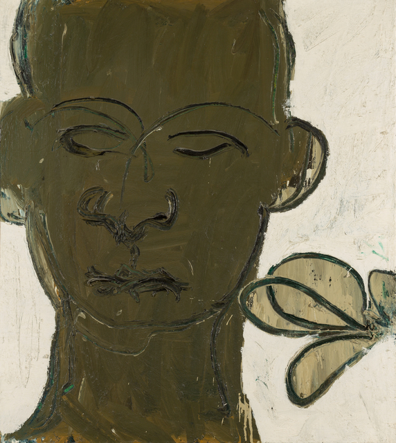 , 'Man with Plant,' 1961, David Klein Gallery