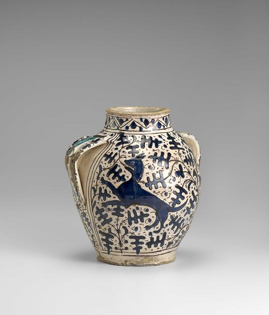'Pharmacy jar from Santa Maria Nuova', 1430, National Gallery of Victoria