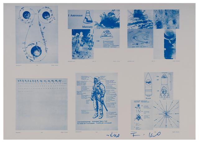 , 'Associations I, IV, VI, VII, XXXIV, XXXV,' 1968-1969, The Mayor Gallery