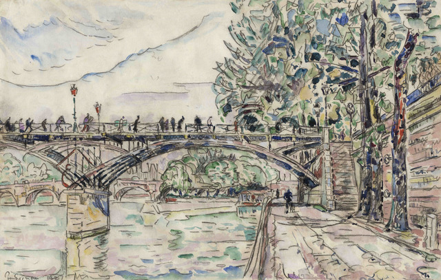 , 'Paris. Le Pont des Arts,' 1927, Connaught Brown