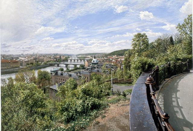 , 'View of the Vtlava,' 2004, Louis K. Meisel Gallery
