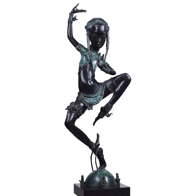 , 'Dancing for the Emperor,' 2015, OSTASHOV sculpture