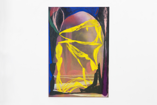 , 'Yellow Head,' 2018, Patrick Parrish Gallery