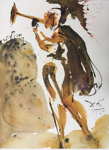 Salvador Dalí, 'Canite Tuba in Sion', 1964, Wallector