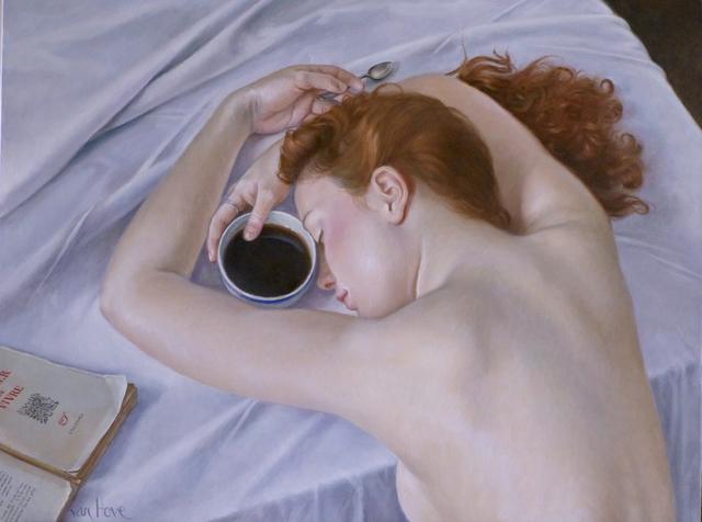 , 'Noir café ,' 2016, Galerie de Bellefeuille