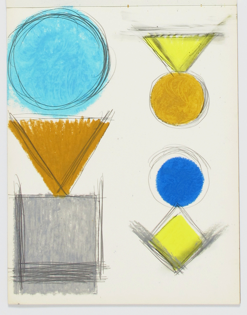 , 'Untitled,' 1955, Inman Gallery