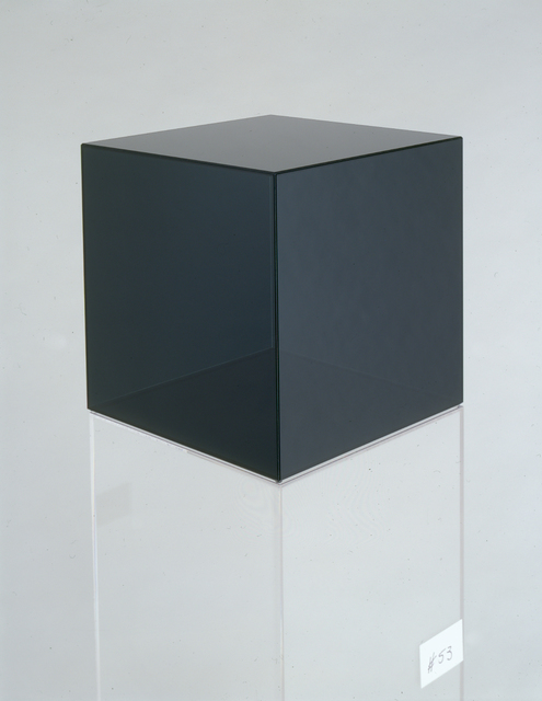 , 'Cube 53 (dark grey),' 2006, Bernard Jacobson Gallery