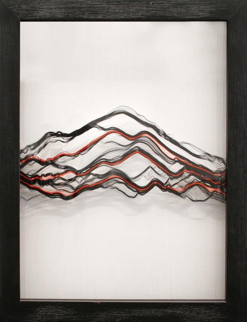 Vanessa Gomez, 'Volcan 2', 2019, Mixed Media, Cotton thread and nylon, Galería La Cometa