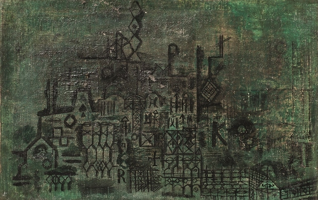, 'Lineal verde,' ca. 1935, Galería de las Misiones