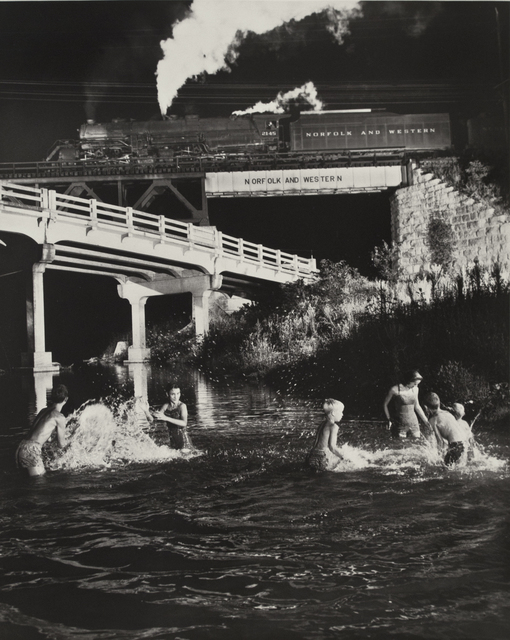 O. Winston Link, 'Hawksbill Creek Swimming Hole, Luray, Virginia', 1956, Howard Greenberg Gallery