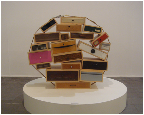 , 'You Can't Lay Down Your Memories Chest-of-Drawers,' 1991, Industry Gallery