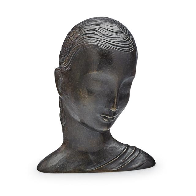 Atelier Hagenauer Wien, 'Bust Of A Woman, Austria', 1930s, Rago/Wright
