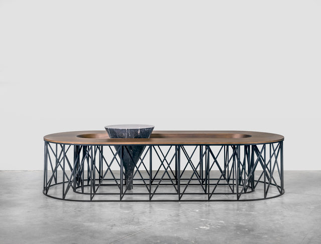", '""Exo"" coffee table,' 2015, Galerie Gosserez"