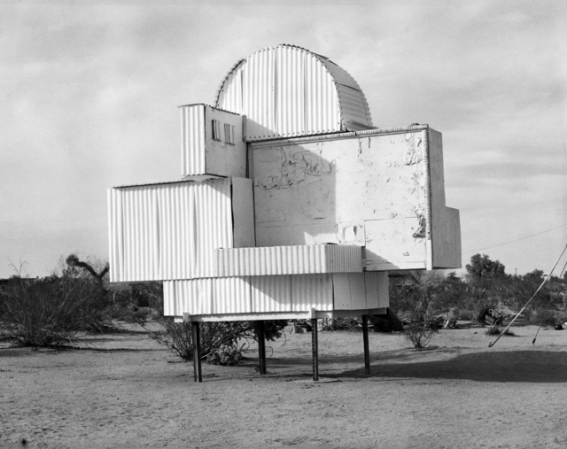 Hannah Collins, 'The Interior and the Exterior - Noah Purifoy', 2014, Photography, Selenium toned silver prints, 16 prints of 40 x 50 cm each and 2 double-prints of 40 x 100 cm each, Galería Joan Prats