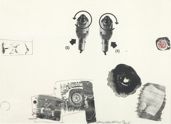 Robert Rauschenberg, 'Test stone #5', 1967, Caviar20