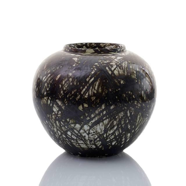 , 'Black Scribble Vase,' 2016, Adrian Sassoon