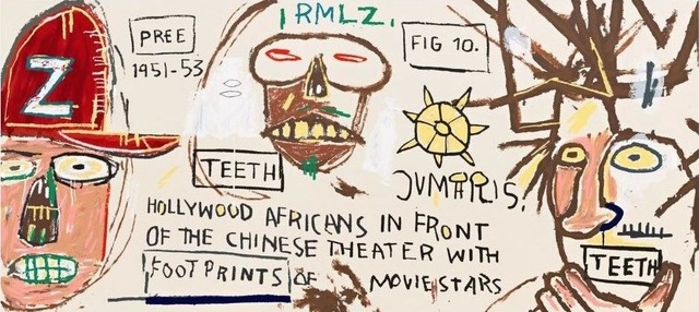 , 'Hollywood Africans in front of the Chinese Theater with Footprints of Movie Stars,' 1983, David Benrimon Fine Art