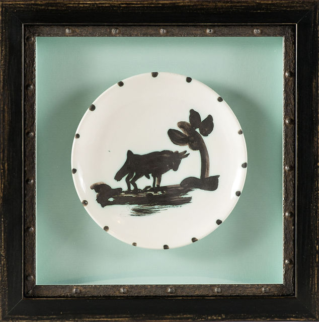 Pablo Picasso, 'Bull Under the Tree Plate', 1952, Modern Artifact
