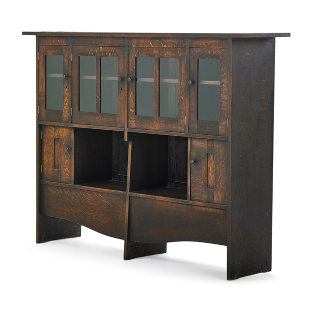Harvey Ellis, 'Important Bookcase/Cabinet, Possibly Unique, Eastwood, NY', ca. 1903, Rago/Wright