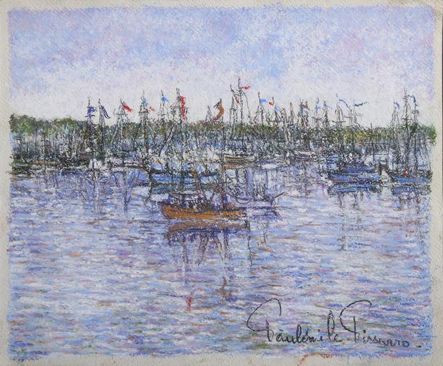 Paul Émile Pissarro, 'Le Bateau Rouge', ca. 1950, RoGallery