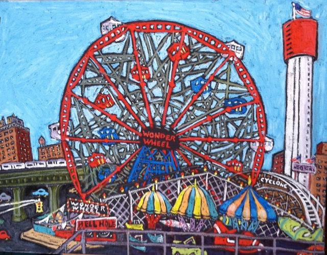 , 'Wonder Wheel,' 2013, 440 Gallery