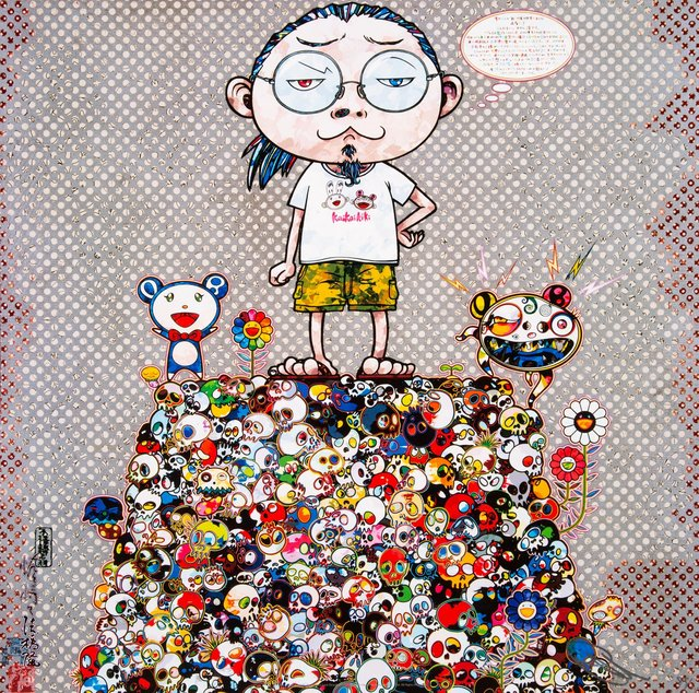 Takashi Murakami, 'With the Notion of Death, the Flowers Look Beautiful', 2013, Heritage Auctions