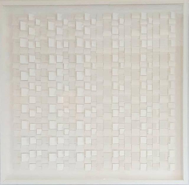 , 'White on White No. 2,' , Paraphé
