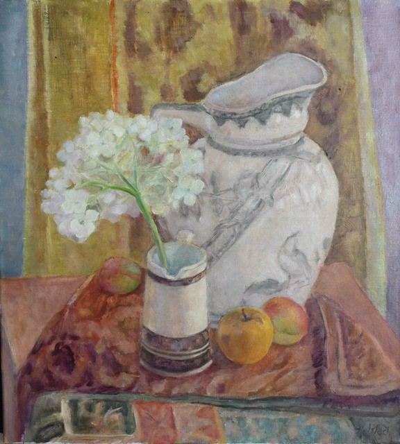 , 'Still Life With Hydrangeas and Fruit,' , InLiquid
