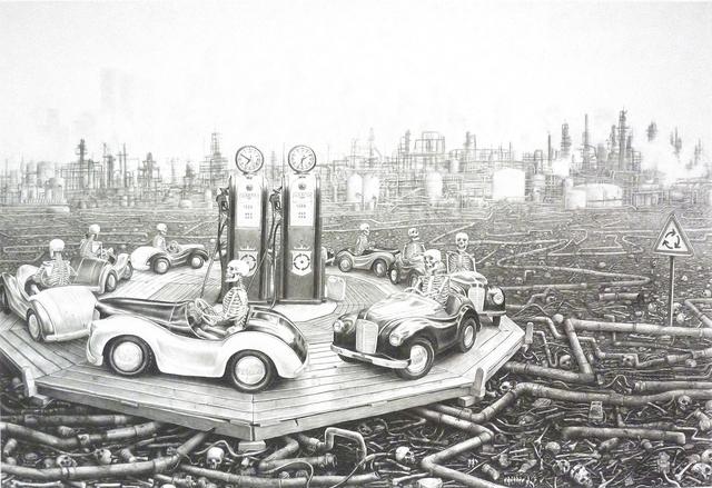 , 'Round and Round,' 2014, Bert Green Fine Art