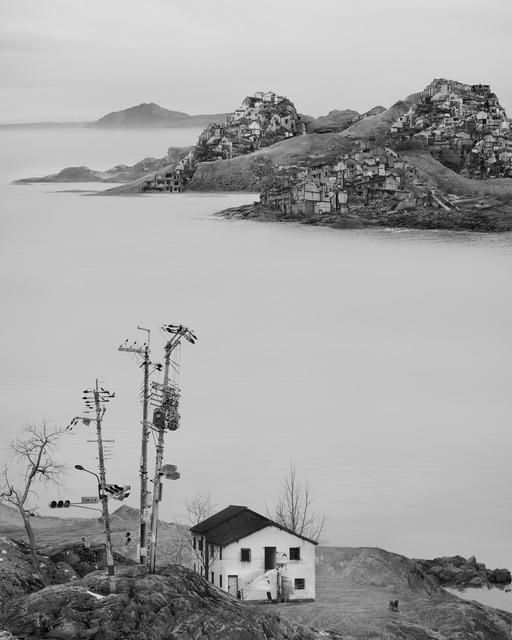 , '太古蜃市 - 孤舍 Time Immemorial - Lone House,' 2016, Matthew Liu Fine Arts