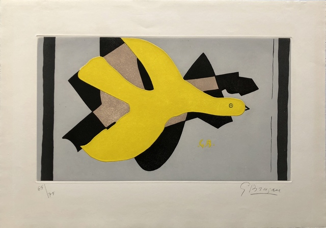 Georges Braque, 'L'Oiseau et Son Ombre II (Bird and its Shadow II)', 1961, Denis Bloch Fine Art