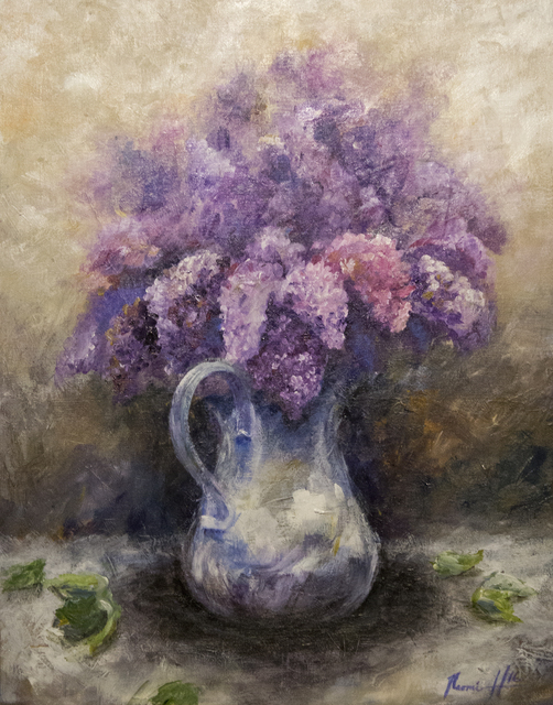, 'Lilacs ,' 2016, Eastend Studio and Gallery