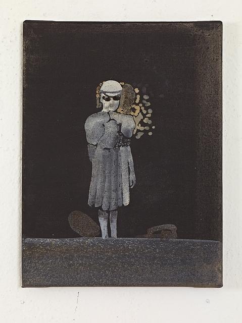 , 'Frau mit Faltenrock,' 2011, Levy