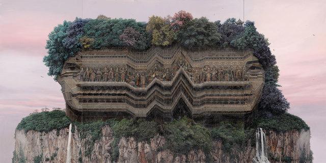, 'Psychedelic Palace,' 2017, Mizuma & Kips