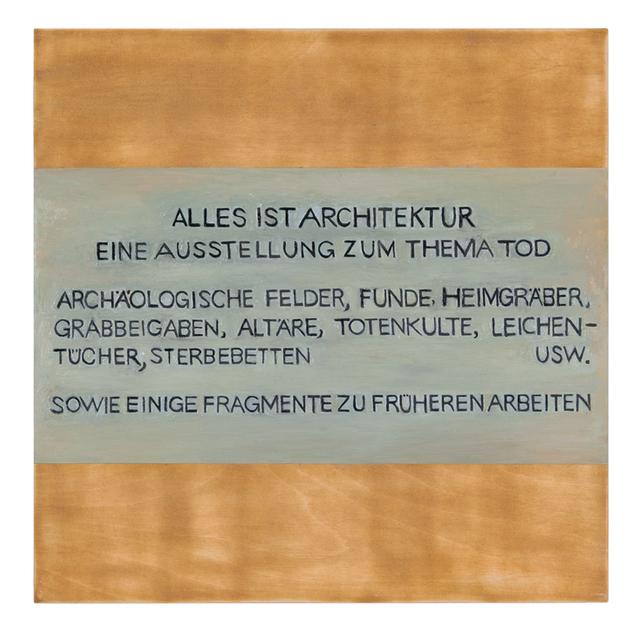 , 'ד, Chapter 24,' 2012, Galerie Buchholz
