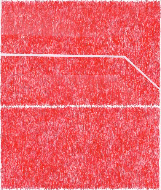 , 'Spray Red 5,' 2019, Haw Contemporary