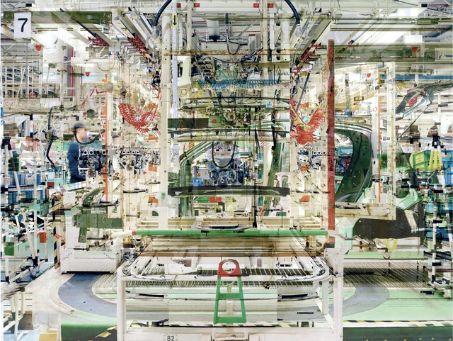 Stéphane Couturier, 'Usine Toyota n° 1', 2005, CHRISTOPHE GUYE GALERIE