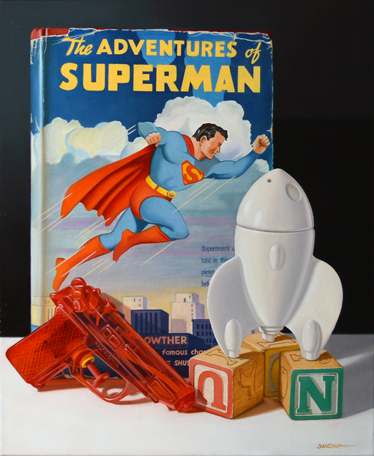 , 'Superman: Cleveland's Native Son,' 2016, The Bonfoey Gallery