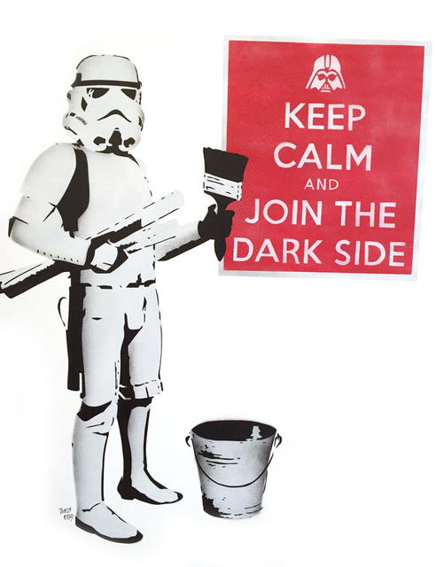 , 'Keep Calm and Join the Dark Side,' 2016, Reem Gallery