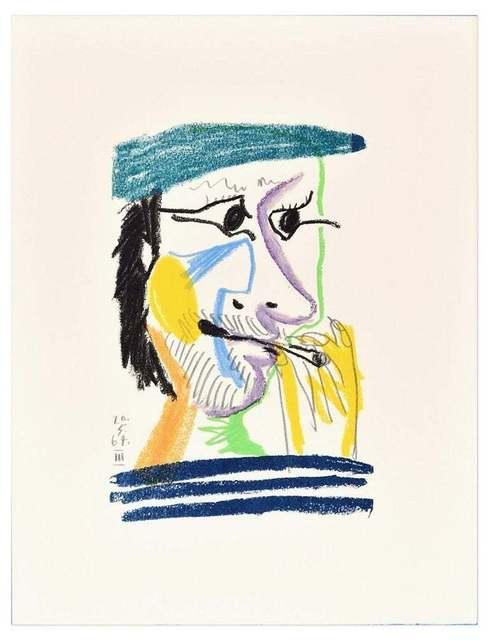Pablo Picasso, 'Le goût du Bonheur - 20.5.64 III (After) P. Picasso', 1998, Wallector