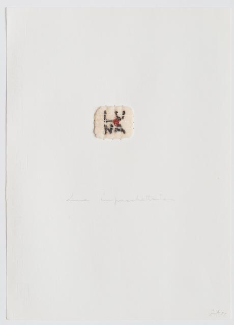 , 'Luna impachettata,' 1977, Repetto Gallery