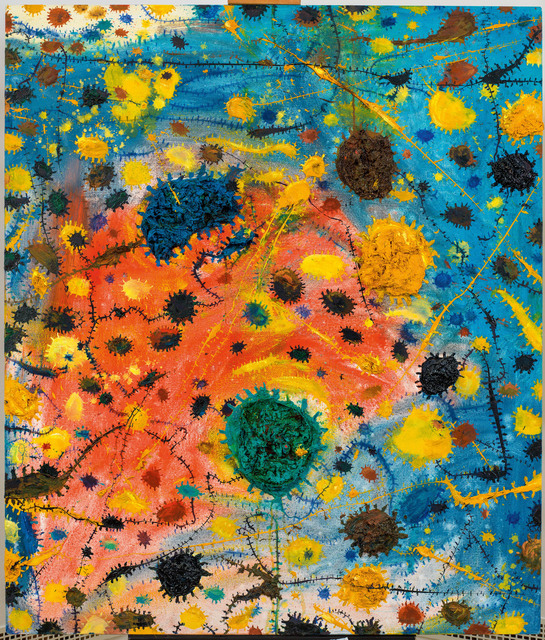 , 'Heißes Blaufeld Weltleuchten,' 2005/2006, Galerie Kovacek & Zetter