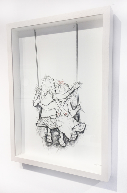, 'Sister Swing,' 2017, London Contemporary Art / Store Street Gallery