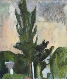 Et Træ. Poppel på kirkegården (A Tree. Poplar in the Cemetery)