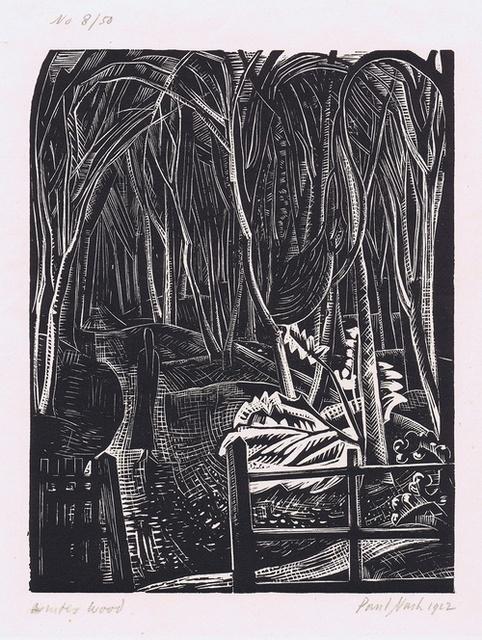 , 'Winter Wood,' 1922, Gerrish Fine Art