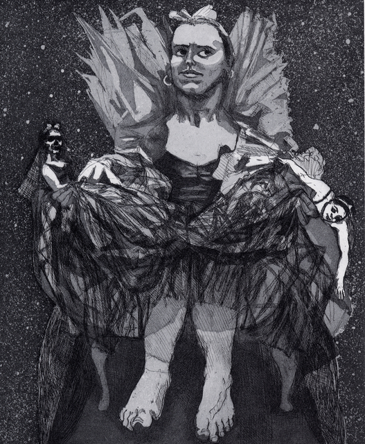 Paula Rego, 'Pendle Witches - Mist I', 1996, Marlborough Graphics