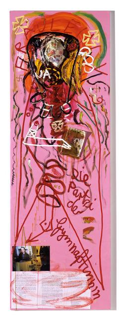 , 'Dein Stahlblindes geortetes Geschlechtsteil riecht...,' 2006, Contemporary Fine Arts